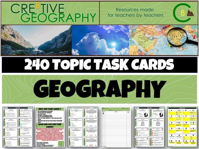 Geography Revision Bundle