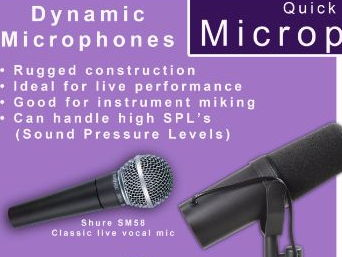 Quick guide to Microphones