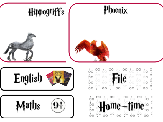 Harry Potter Classroom Signs (Bundle)