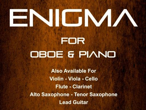 Enigma - Oboe & Piano (Score & Parts)
