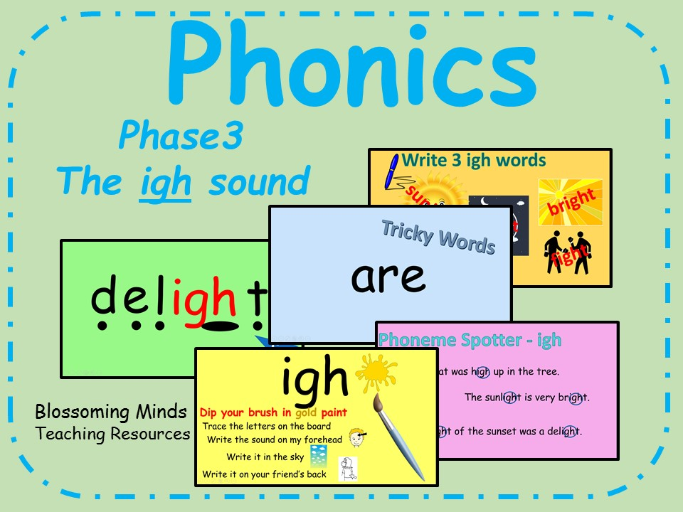 Phonics Phase 3 - The 'igh' sound