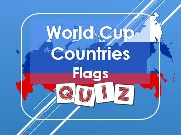 World Cup: Russia 2018: Flags Quiz
