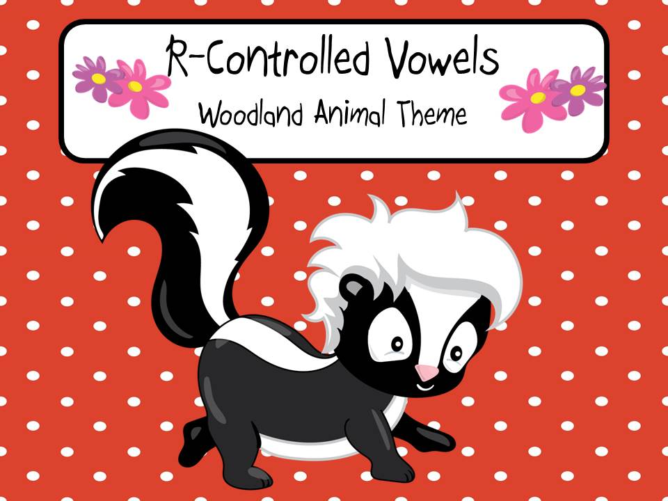 R-Controlled Vowels - Woodland Animal Theme