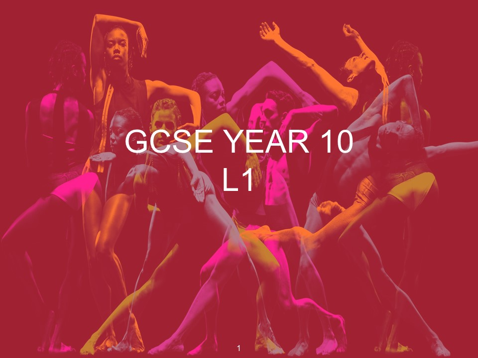 GCSE Dance A Linha Curva Unit of Work