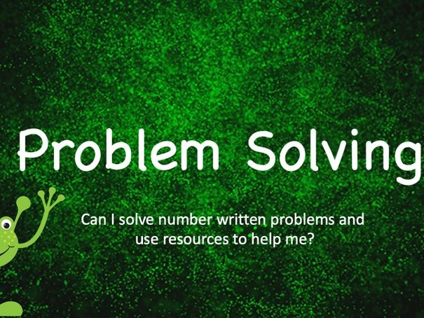 Year 1  Problem Solving Activity