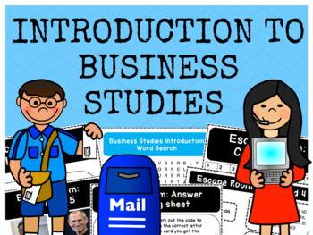 Introduction to Business Studies - Bundle