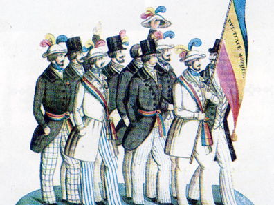 1848 Revolution, Germany and Italy.