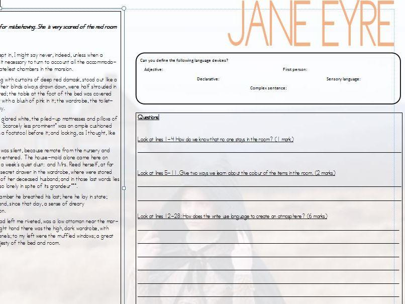 Jane Eyre 19th Century GCSE English