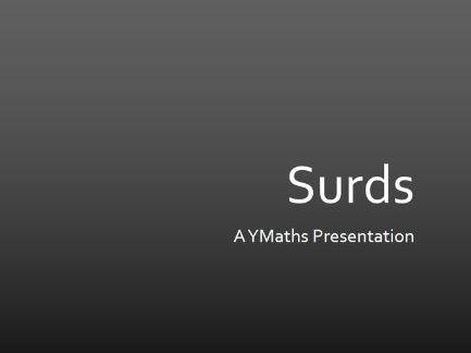 Simplifying Surds Full Presentation