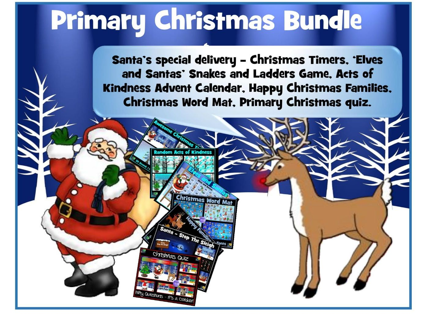 Primary Christmas Resources Bundle