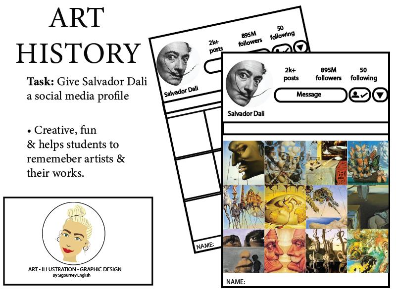 Art History: Give Salvador Dali a social media profile