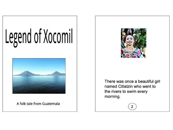 Guatemala Folklore: The Legend of Xocomil easy reader kit
