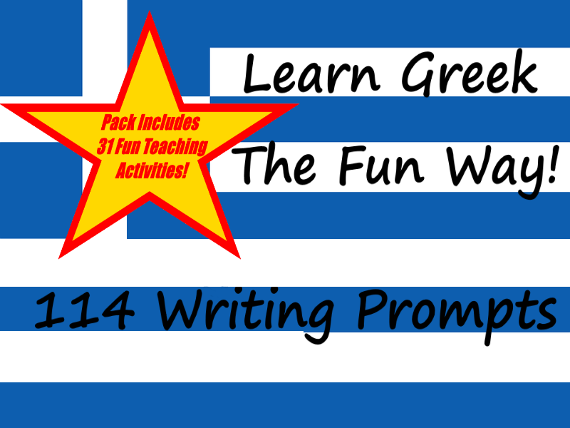 114 Greek Writing Worksheets For Writing Practice + 31 Teaching Ideas Teacher Guide