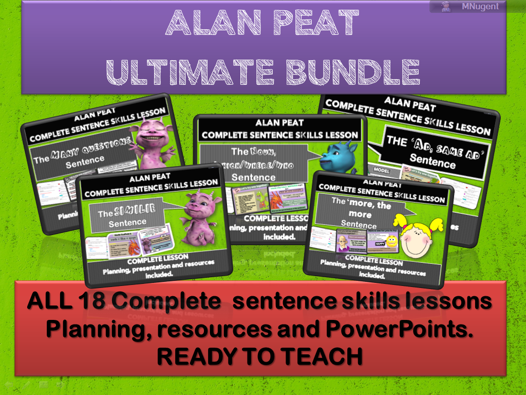 ULTIMATE ALAN PEAT BUNDLE