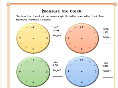 Measure the clock