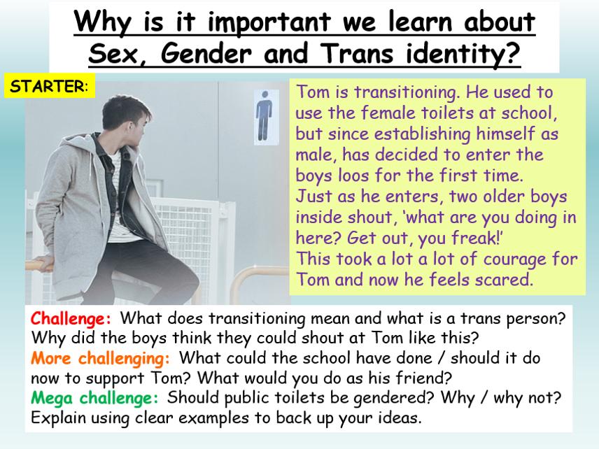 Gender + Trans Identity - LGBT