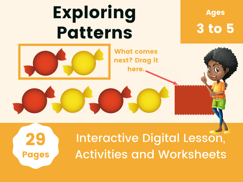 Exploring Patterns Digital Learning Activities