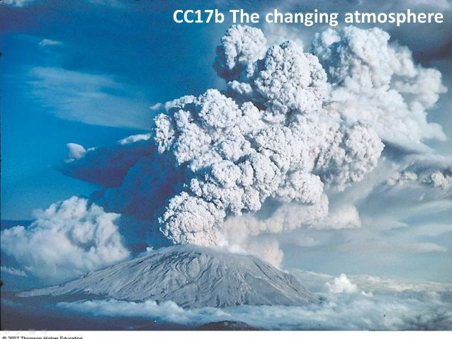 CC17b The changing atmosphere
