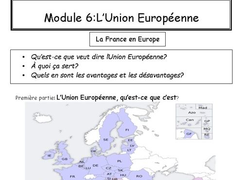 A-Level Booklet-European Union