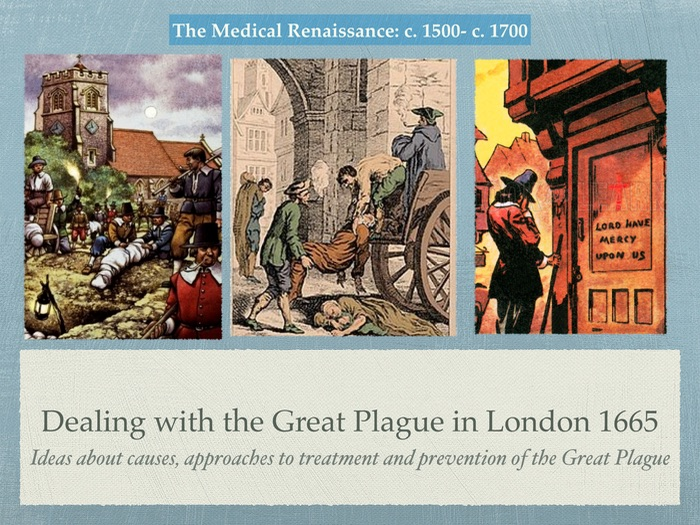 an analysis of the great plague of london
