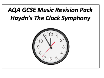 Haydn's 'The Clock' revision resource pack