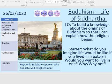 Buddhism - The life of Siddhartha Gautama