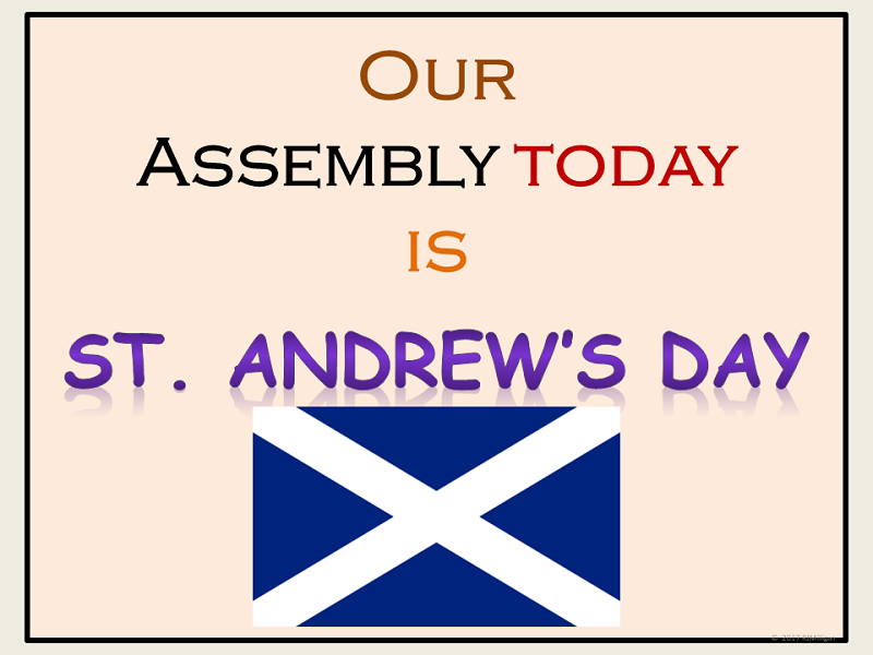 Saint Andrew's Day: Assembly and Presentation Lesson, Worksheets, Word Search, Teacher's Notes