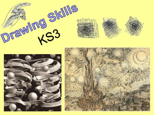 Drawing Skills in Art (7 lessons & 2 homeworks)