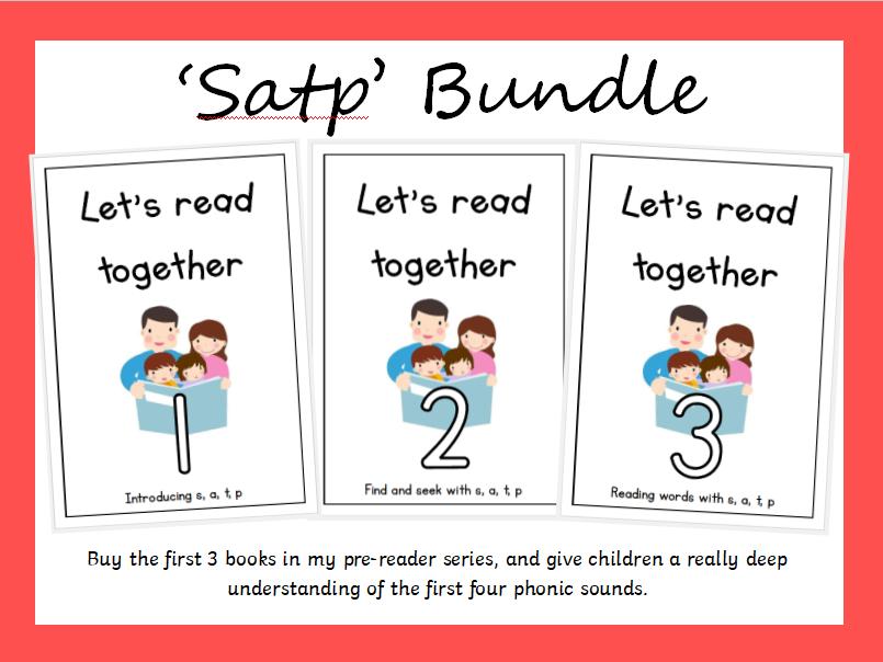 Pre-reader series: Let's Read Together - Satp Bundle