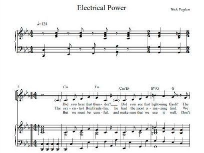 Electrical Power, a song for key stage 2