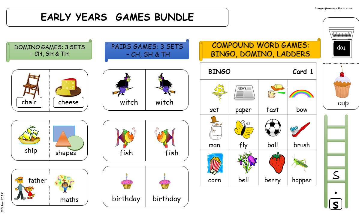 Early Years Games Bundle