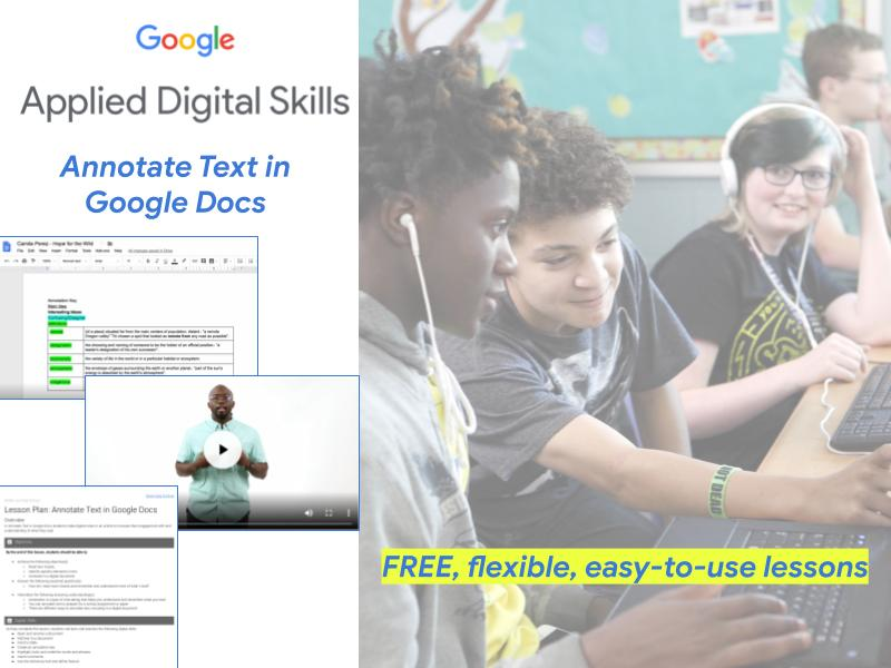 Annotate Text in Google Docs