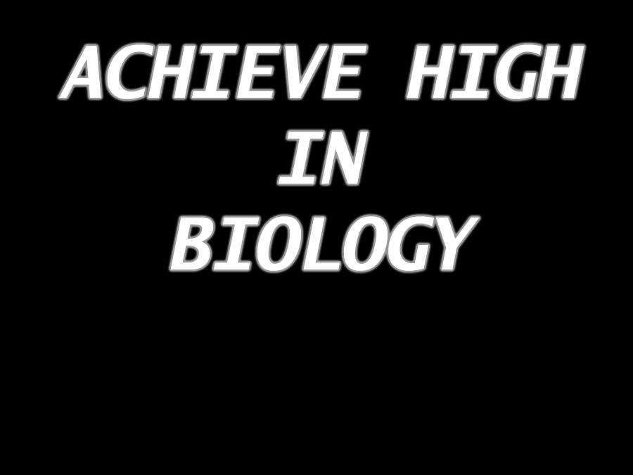AS/A level Biology (EDEXCEL SALTERS NUFFIELD) TOPICS 1&2 COMPLETE REVISION NOTES