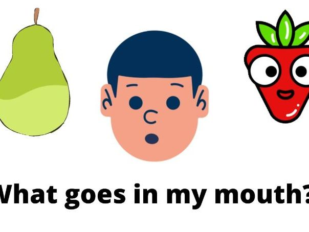 What Goes In My Mouth? - Digital Social Story