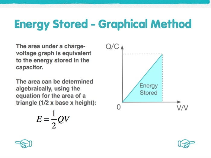 Energy in Capacitors - Powerpoint Presentation
