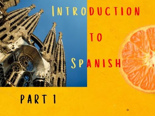 SAMPLE: Introduction to Spanish Workbook