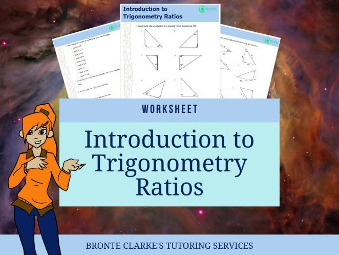 Introduction to Trigonometric Ratios, Yr 9, with Answers