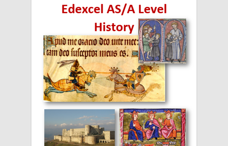 AS & A2 Crusades Revision Guide Edexcel