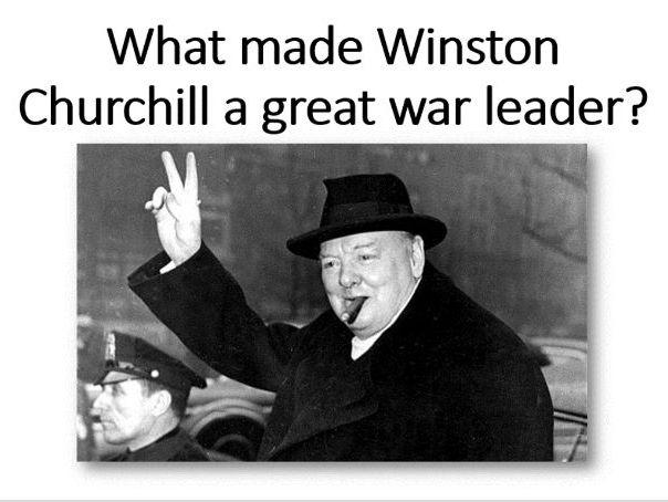 Churchill: great war leader?