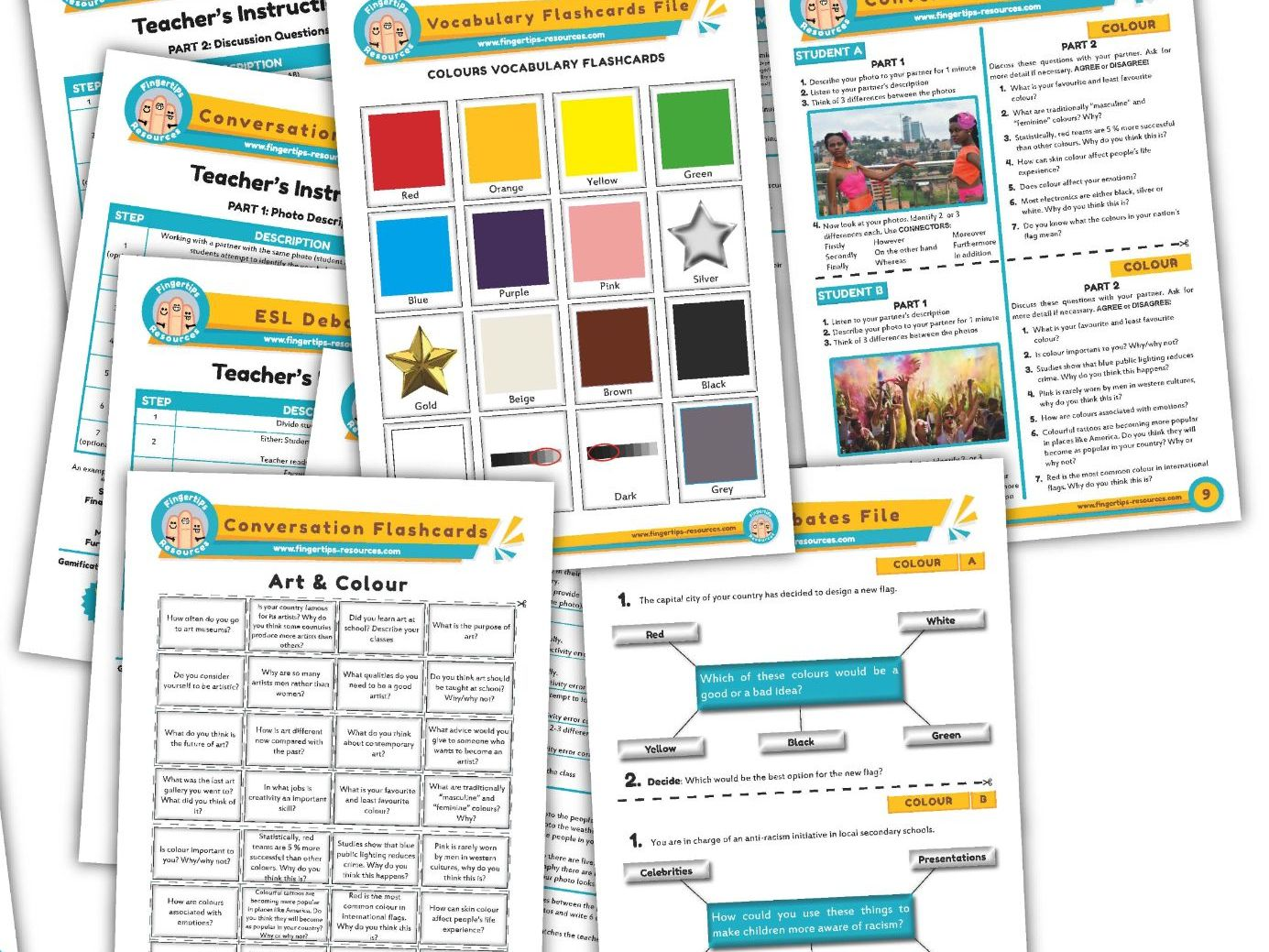 Colour Unit - ESL Activity Bundle