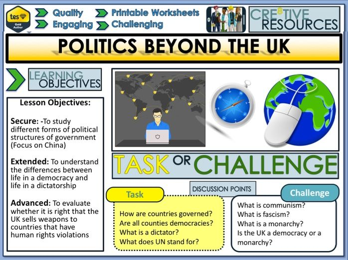 Politics beyond the UK