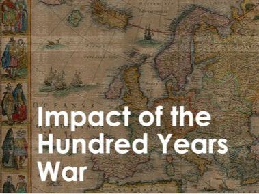 AQA 9-1 Impact of the Hundred Years War (Migration L13)