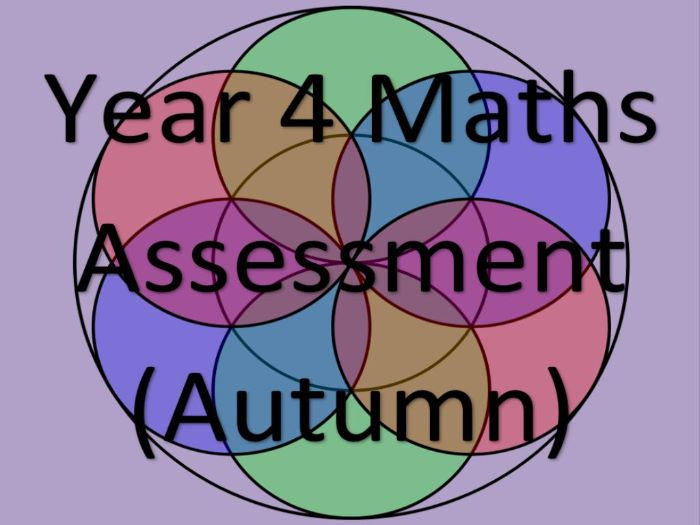 Year 4 Maths Assessment and Tracking (AUTUMN)