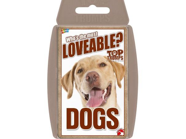 Dogs Official Top Trumps - Sample Deck
