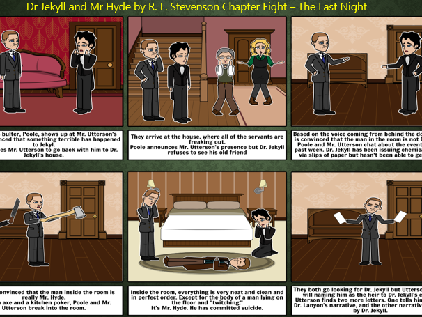 Dr Jekyll and Mr Hyde Full Chapter Summary/Revision Pack (8-10 lessons) for KS3/KS4