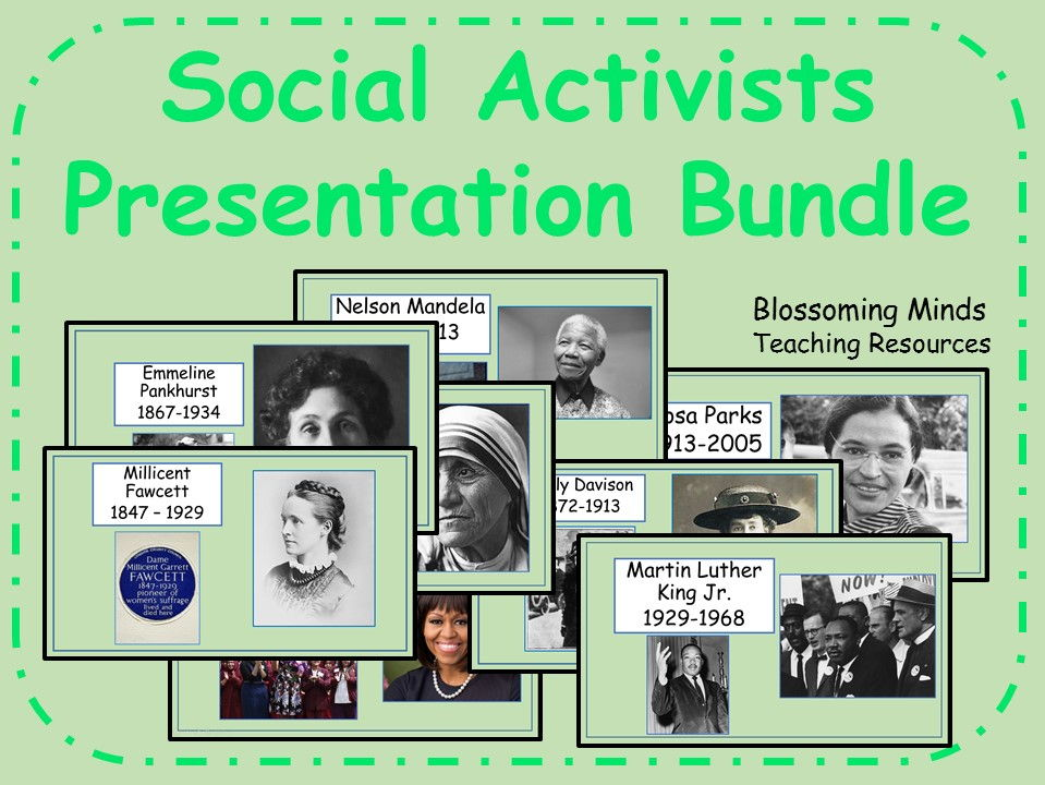 Social Activists Presentation Bundle