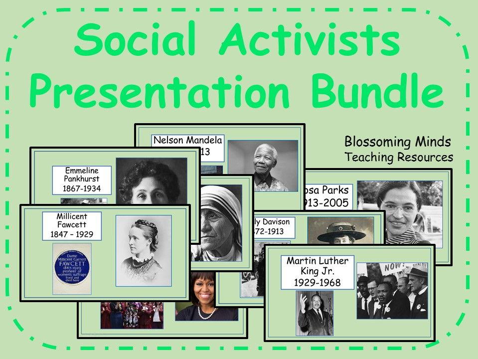Social Activists Presentation Bundle