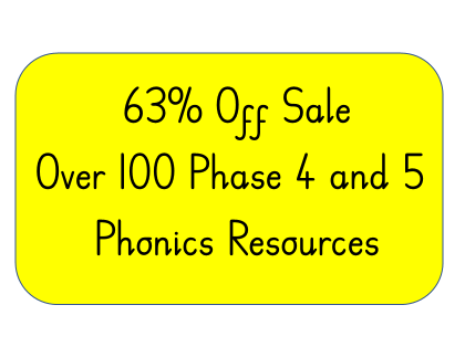 Phase 4 and 5 Phonics resources.