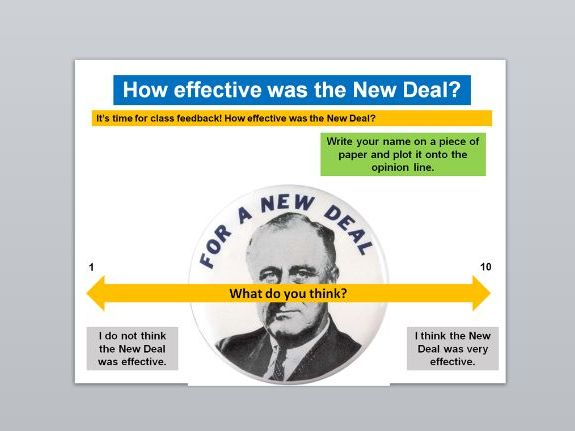 The Roaring Twenties, Roosevelt and The New Deal (AQA Opportunity and Inequality)