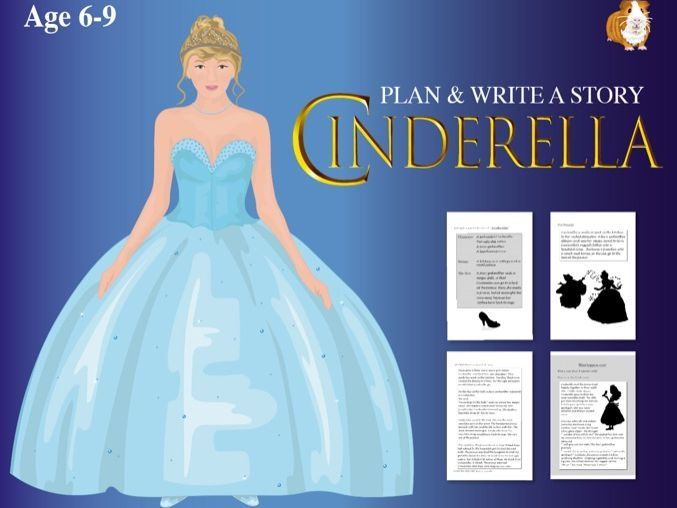 Plan And Write A Story: Cinderella (6-9 years)